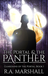The Portal & the Panther by RA Marshall 400x625